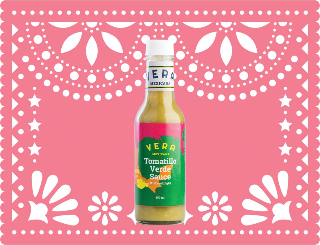 En frisk grønn saus for deg som liker smaken, men ikke krydderet.